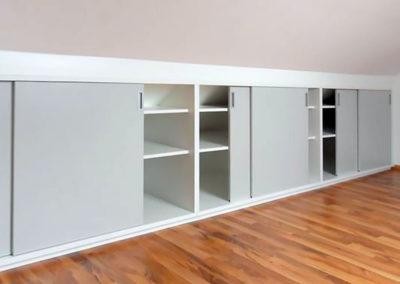 armario guardilla puertas corrderas estantes libreria granada