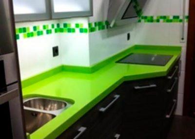 cenefa cocina verde sin bra adhesiva para tapar cenefa decuore 3 2