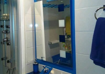 cenefa para baño azul diseño 4