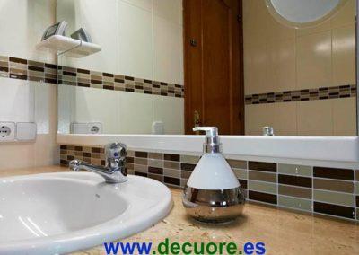 cenefas para baños adhesivas marrones calidad sin obra decuore 3 2