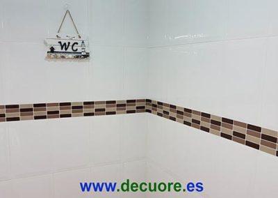cenefas para baños pegadas para tapar antigua sin necesidad de obra decuore 2 2