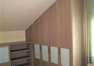 dormitorio medida guardilla granada madera juvenil
