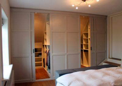 vestidores con puertas a medida blanco lacado aguardillados granada elegante diseño 4