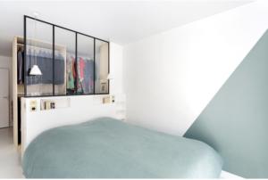 Armario en dormitorio pequeño