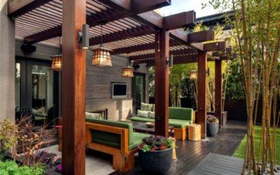 4 soluciones geniales para proteger tu terraza del sol