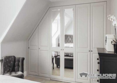 abuhardillado blanco espejo moderno diseño granada decuore