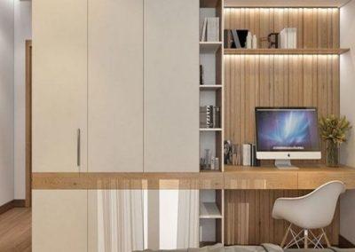 armario despacho para dormitorio matrimonio lacado en granada 1