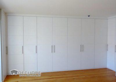 armario esquina blanco a medida en granada decuore