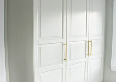 armario puertas abatibles lacado blanco 1