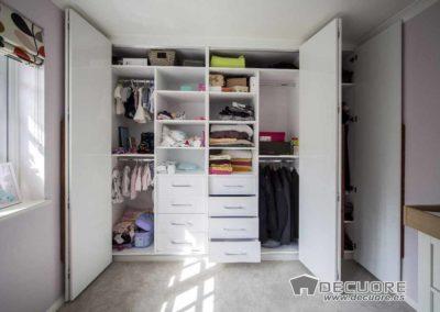 armario puertas plegables blanco madera niña granada 2
