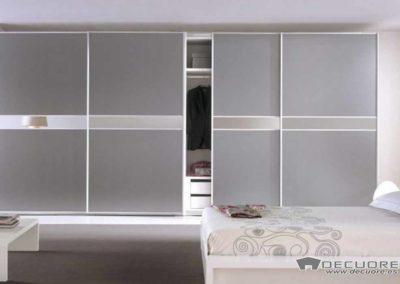 armarios con puertas correderas 4 puertas espejo decuore