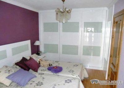 armarios con puertas correderas dormitorio brillo decuore