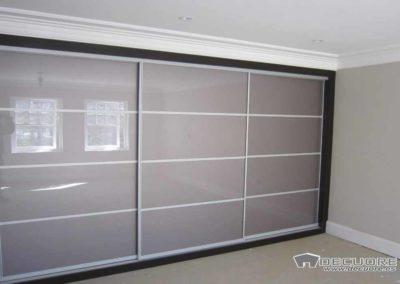 armarios empotrados con cristales 3 puertas correderas decuore
