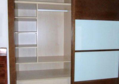 armarios para dormitorio matrimonio madera y cristal correderas decuore