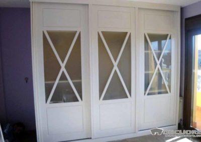 armarios puertas correderas blanco aspa a medida