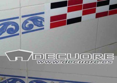 cenefas adhesivas para cocina y baños decuore