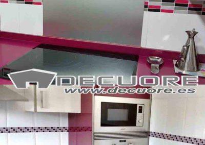cenefas adhesivas sin obra para cocina moradas decuore 1