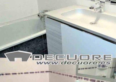 cenefas para baño grises modernas decuore