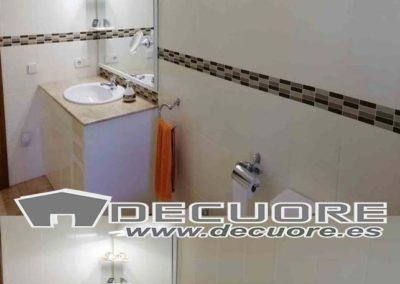 cenefas para baños adhesivas marrones sin obra decuore
