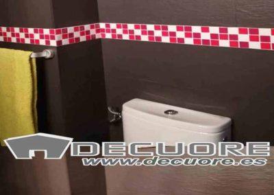 ceneffas para baños ahdesivas sin obra