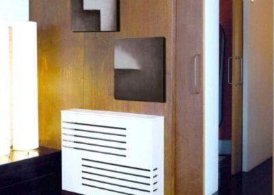 cubreradiador blanco moderno