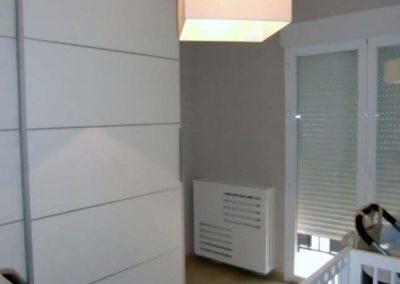 cubreradiador dormitorio lacado blanco a medida granada