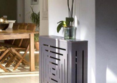 cubreradiador moderno madera gris 1