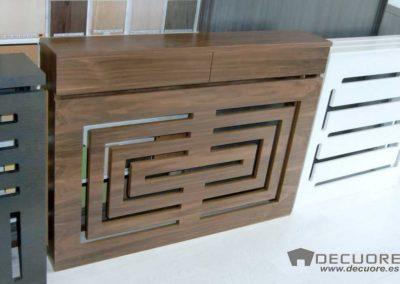 cubreradiadores tonos madera natural moderno