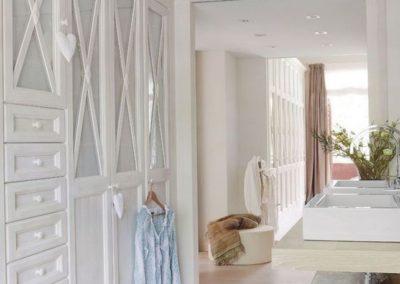 dormitorio niña a medida en granada estilo clasico blanco 1