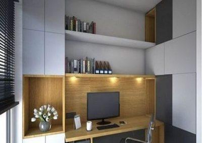 escritorio a medida en dormitorio juvenil armario decuore
