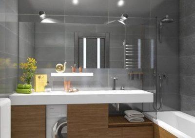 ideas poner una lavadora en el baño granada decuore