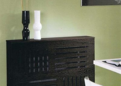 mueble cubreradiador madera moderno clasico