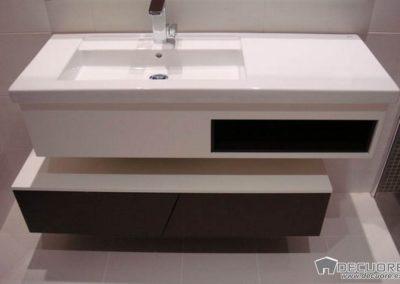 muebles de baño a medida en granada blanco