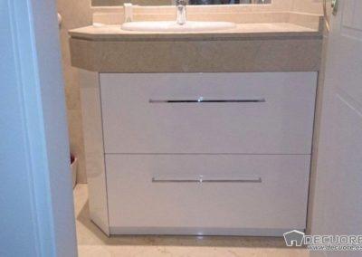 muebles de baño blancos piedra marmol en granada 1