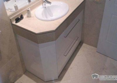 muebles de baño blancos piedra marmol en granada 2