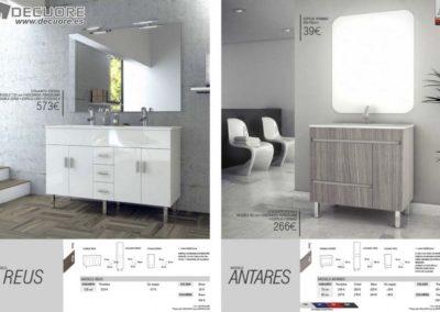 muebles para el baño blancos en granada