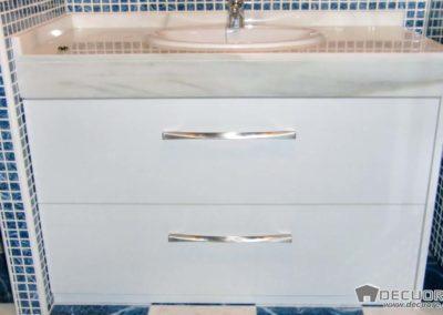 muebles para el baño con cajones blanco a medida granada 2