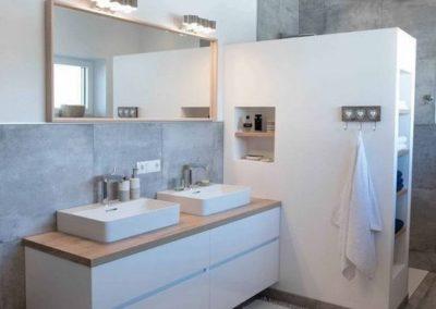 muebles para el baño con dos lavabos en granada