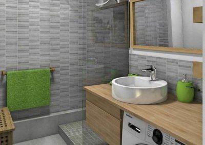 muebles para el baño con lavadora bonitos en granada