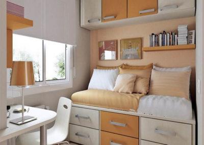 dormitorio juevnil puente moderno en granada