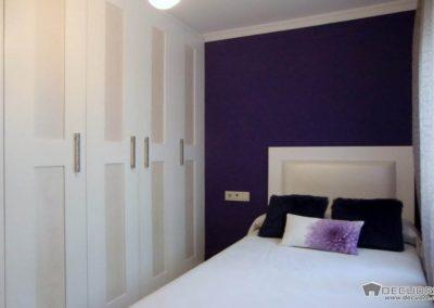 dormitorio juvenil a medida en granada blanco