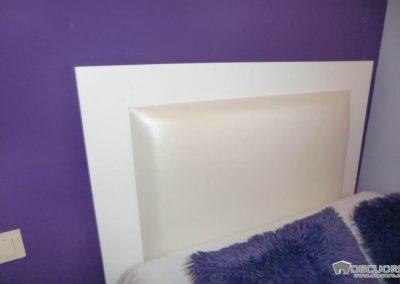 dormitorio juvenil cabecero y armario granada
