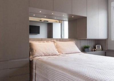 dormitorio matrimonio con armario decuore