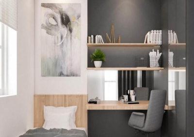 dormitorio moderno juvenil a medida granada decuore