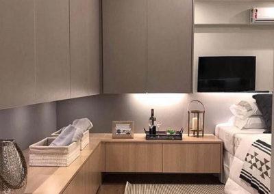 dormitorio moderno madera en granada