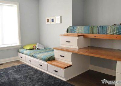 dormitorios con 2 camas en granada