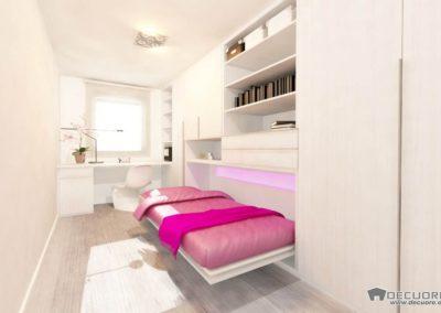 dormitorios con cama abatibles en granada a medida