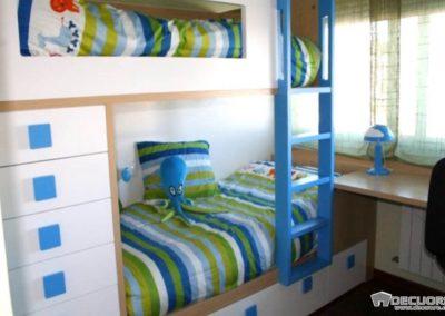 dormitorios con literas a medidas en granada decuore