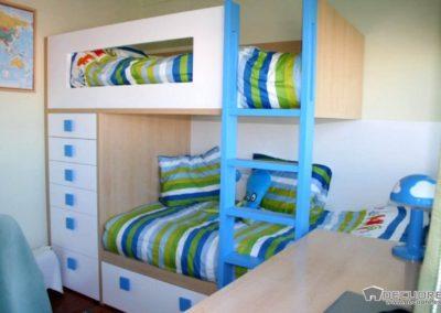 dormitorios con literas en granada decuore