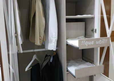 estantes para armarios extaribles util decuore